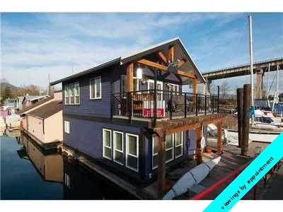 Judy Ross, Vancouver real estate: Live-Aboard Boat, Float Home