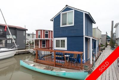 Bridgeport RI Float Home for sale: Richmond Marina 1 bedroom 542 sq.ft. (Listed 2018-06-06)