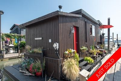 Bridgeport Float Home for sale: Richmond Marina Studio 633 sq.ft. (Listed 2019-02-16)