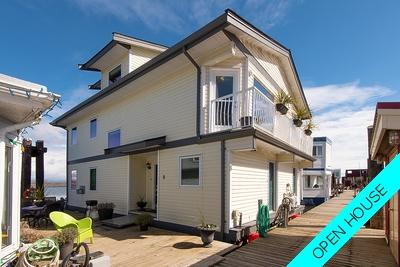 Ladner Rural Float Home for sale: Ladner Reach Marina 2 and den 2,039 sq.ft. (Listed 2019-04-04)