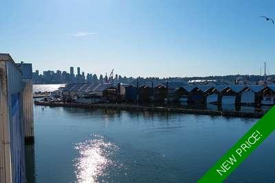 Lower Lonsdale boathouse-apartment for sale: Mosquito Creek Marina 2 bedroom 1,868 sq.ft.